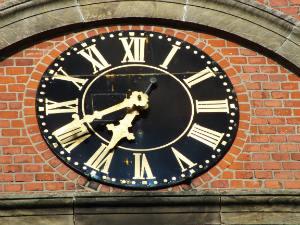 Die Kirchenuhr von Bad Bodenteich