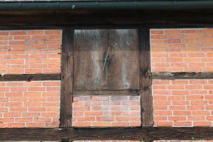 Die alte Holzuhr in Veerßen