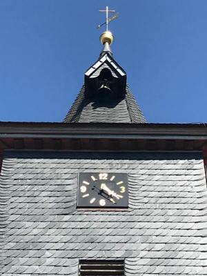 Die Uhr der Georgskirche